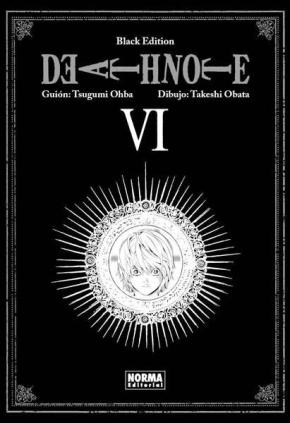Portada de Death Note Black Edition 6 (final)