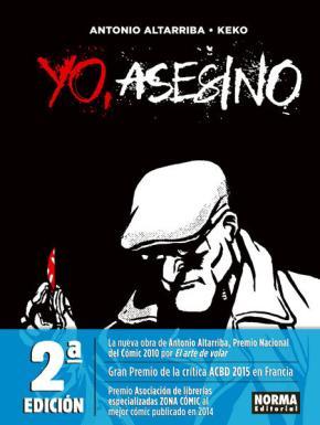 Portada de Yo, Asesino (2ª Ed.)
