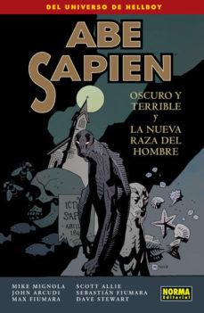 Portada de Abe Sapien 3: Oscuro Y Terrible Y La Nueva Raza Del Hombre
