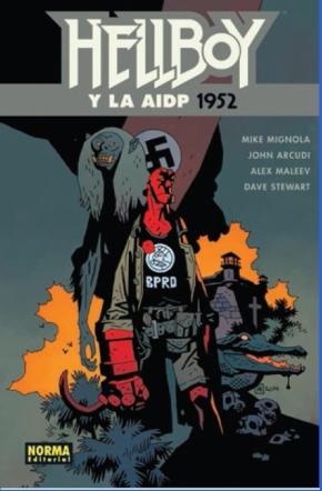 Portada de Hellboy 19: Hellboy Y La Aidp 1952
