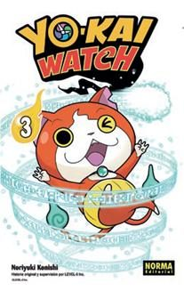 Portada de Yo-kai Watch 03