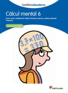 Portada de Calcul Mental 6