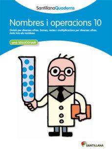 Portada de Nombres I Operacions 10