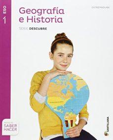 Portada de Geografia E Historia 1º Secundaria Extremadura