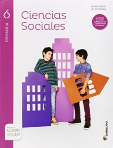 Portada de Ciencias Sociales 6º Primaria Saber Hacer Ed 2015 Castellano