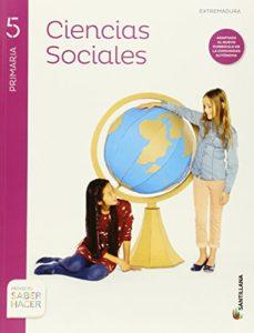 Portada de Ciencias Sociales 5º Primaria + Atlas Extremadura