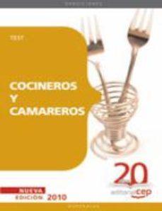 Portada de Cocineros Y Camareros. Test