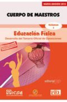 Portada de Cuerpo De Maestros. Educacion Fisica. Temario Vol.i.  Edicion Par A Canarias
