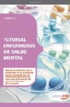 Portada de Tutorial Enfermeros De Salud Mental: Tomo Iv