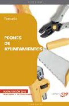 Portada de Peones De Ayuntamientos. Temario (7º Ed)