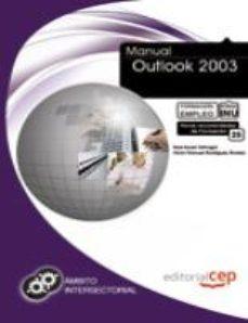 Portada de Manual Outlook 2003. Formacion Para El Empleo