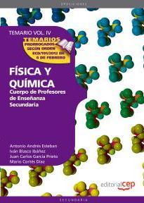 Portada de Cuerpo De Profesores De Enseñanza Secundaria. Fisica Y Quimica: T Emario Vol 4
