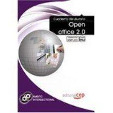 Portada de Cuaderno Del Alumno Open Office 2.0. Formacion Para El Empleo