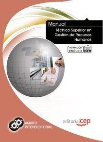 Portada de Manual Tecnico Superior En Gestion De Recursos Humanos. Formacion Para El Empleo