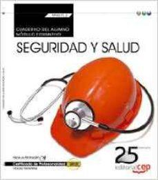 Portada de (transversal: Mf0075_2) Cuaderno Del Alumno. Seguridad Y Salud . Certificados De Profesionalidad