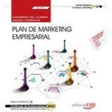 Portada de (uf2392) Cuaderno Del Alumno. Plan De Marketing Empresarial . Certificados De Profesionalidad. Gestion De Marketing Y