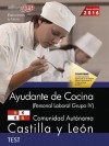 Portada de Ayudante De Cocina (personal Laboral Grupo Iv). Comunidad Autonomica Castilla Y Leon. Test