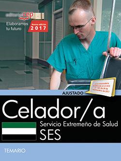 Portada de Celador/a. Servicio Extremeño De Salud. Temario