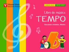 Portada de Musica 6º Educacion Primaria Tempo+cd Andalucia Ed 2015