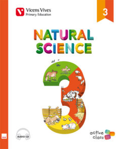 Portada de Natural Science 3 + Cd (active Class) Tercero De Primaria
