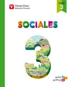 Portada de Sociales 3º Primaria Comunidad De Madrid. (aula Activa)
