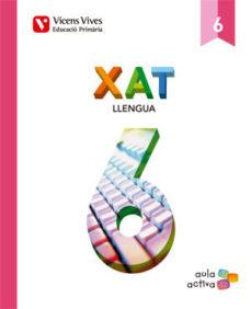 Portada de Xat 6º Primaria (llengua) (aula Activa)