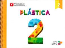 Portada de Plastica 2º Educacion Primaria Mec Ed 2015 Aula Activa