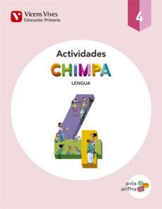 Portada de Cuad.chimpa 4º Primaria Lengua Catalua.aula Activa Ed 2015