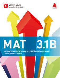 Portada de Matematicas 3º Eso Trimestres Aplicadas Ed 2015