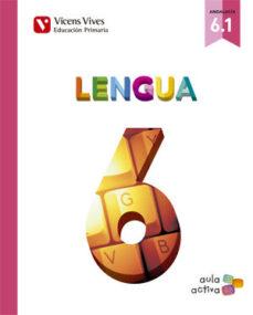 Portada de Lengua 6º Primaria  Trimestral Ed 2015 Andalucia