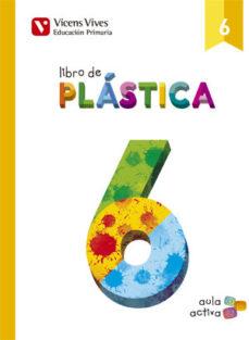 Portada de Plastica 6º Primaria Aula Activa Ed 2015 Andalucia
