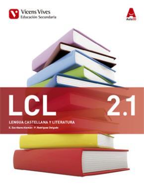 Portada de Lengua Castellana Lit 2º Eso Trimestral Ed 2016