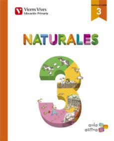 Portada de Ciencias Naturales 3º Educacion Primaria Ed 2016 Castilla Leon