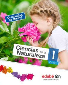 Portada de Ciencias Naturaleza 1º Educacion Primaria Madrid