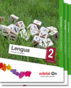 Portada de Lengua 2º Educacion Primaria  Andalucia Ed 2015