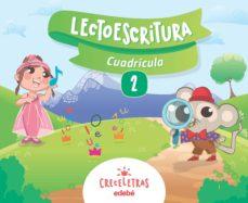Portada de Lectoescritura Cuaderno 2. 3/5 Años Cuadricula Castellano