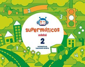 Portada de Matematicas Cuaderno Pack 2º Trimestre 3 Años Castellano