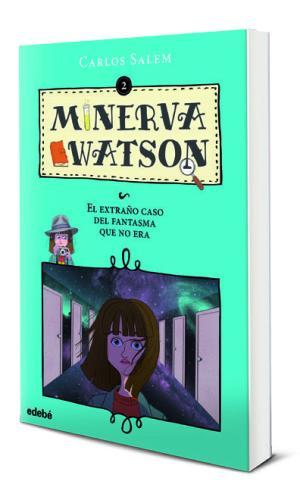 Portada de Minerva Watson 2: El Extraño Caso Del Fantasma Que No Era