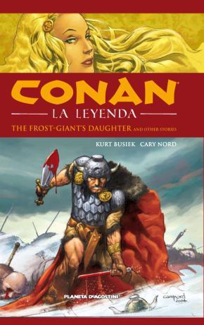 Portada de Conan La Leyenda Nº 1