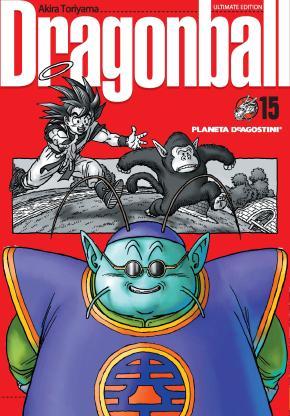 Portada de Dragon Ball Nº15/34