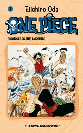 Portada de One Piece Nº 1