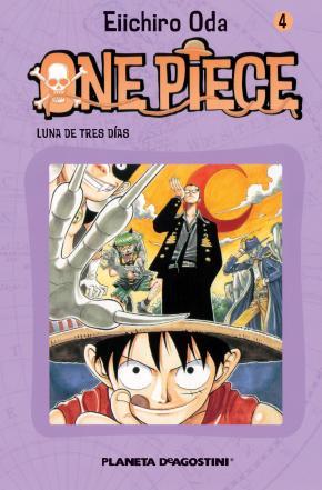 Portada de One Piece Nº 4