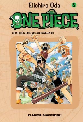 Portada de One Piece Nº 5