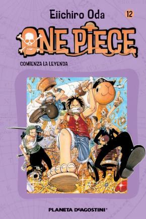 Portada de One Piece Nº 12