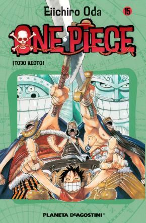 Portada de One Piece Nº 15