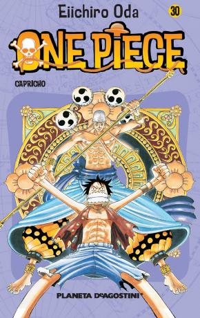 Portada de One Piece Nº 30