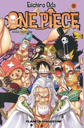 Portada de One Piece Nº 52