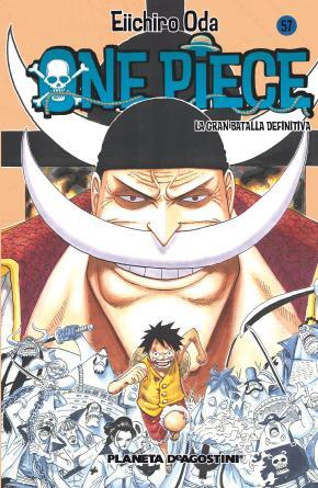 Portada de One Piece Nº 57