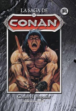 Portada de La Saga De Conan Nº034/35