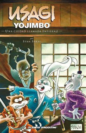 Portada de Usagi Yojimbo Nº 27